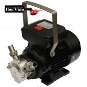 Electrobomba Inox con rotor de neopreno reversible