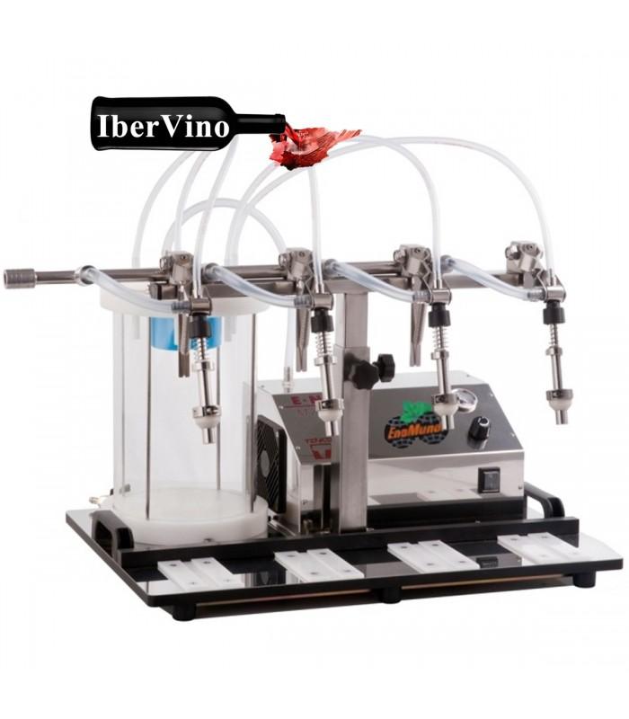 Llenadora semiautomática Enolmaster para aceite