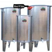 Depósito de acero Inox de fondo conico para aceite