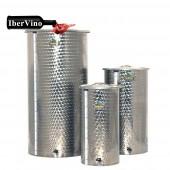 Depósito de acero Inox de fondo cónico para aceite