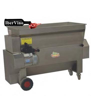 Despalilladora de uva con bomba Inox