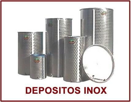 Depositos de Acero Inoxidable para vino y aceite